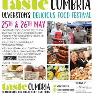 Ulverston Makers' Market & Taste Cumbria Weekend