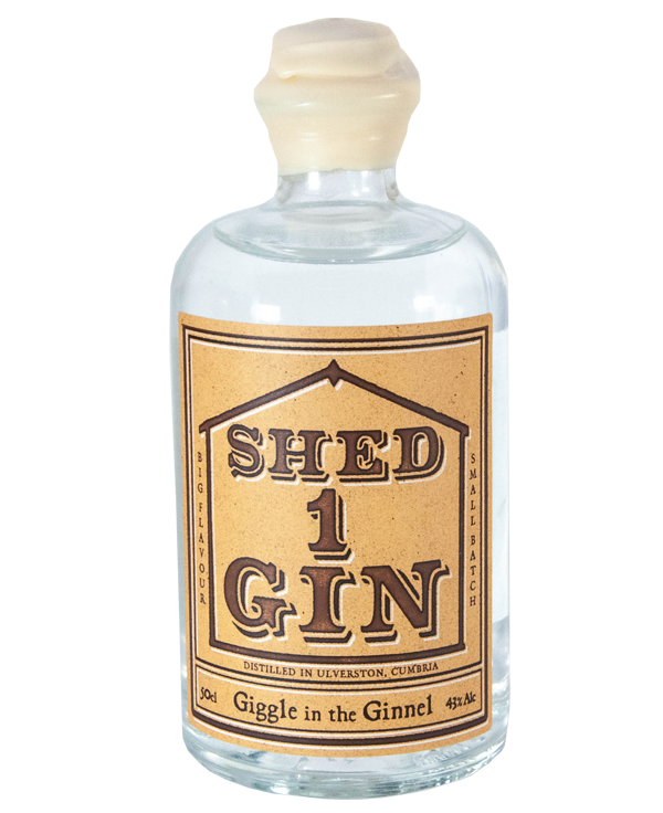 Bottle of Shed 1 Giggle in the Ginnel