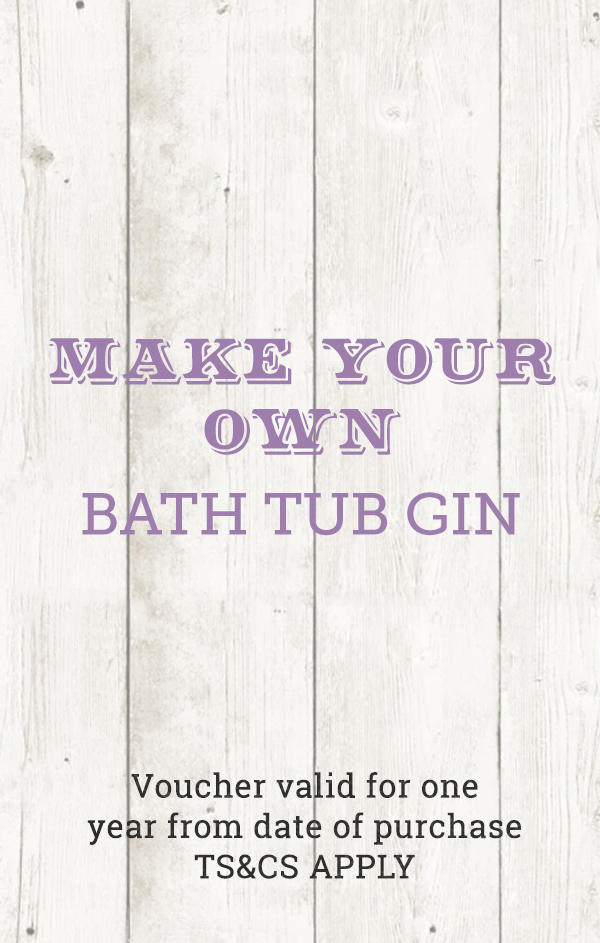 Make Your Own Bath Tub Gin