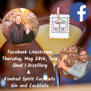 Facebook Livestream Gin & Cocktails