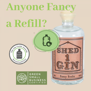Would you like a Gin Refill? Don't mind if I do!