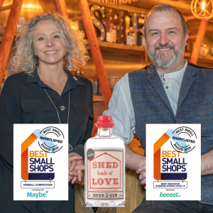 Shortlisted for Maybe* Small Shop Awards
