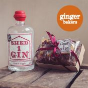 Ginger Baker's/Shed 1 Gin Clementine and Cranberry Fruit Cake