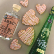 Elderflower & Fancy Frolic Gin Shortbread